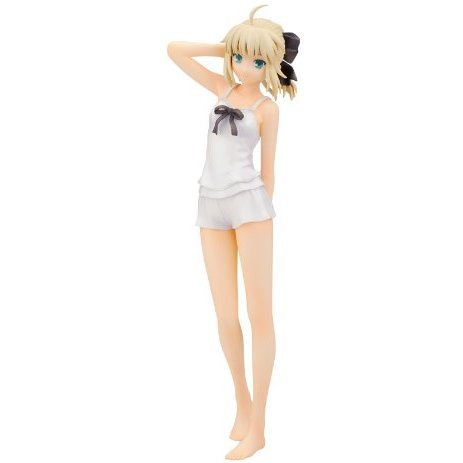 Fate/stay night 1/8 Scale Pre-Painted PVC Figure: Saber Summer Ver.