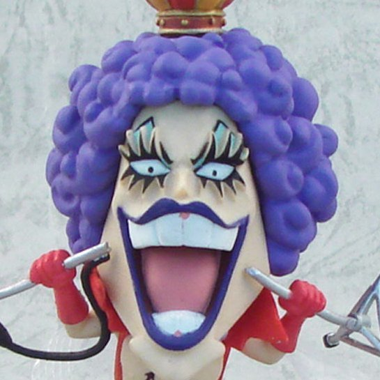 One Piece World Collectable Pre-Painted PVC Figure vol.11: TV086 - Emporio Ivankov