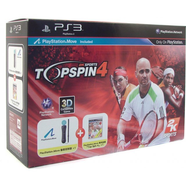 Top Spin 4 (PlayStation Move Bundle)