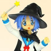 Lucky Star Non Scale Extra Cosplay Pre-Painted PVC Figure: Izumi Konata