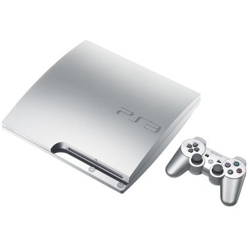 PlayStation3 Slim Console (HDD 160GB Satin Silver Model) - 110V