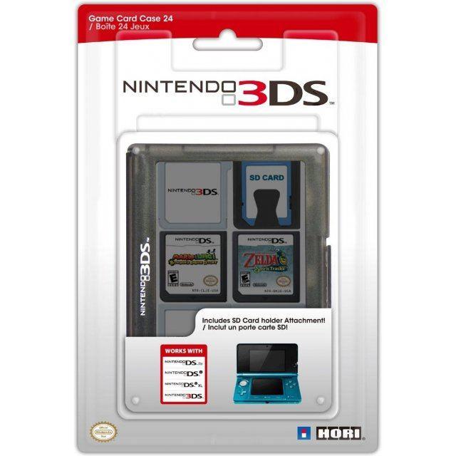Nintendo 3ds Game Card : Nintendo ds game card case black