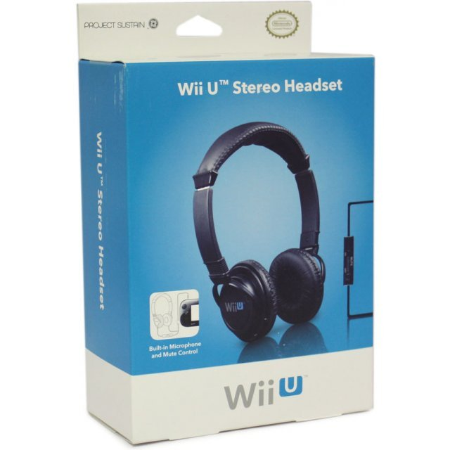 4Gamers Stereo Chat Headset (Wii U)