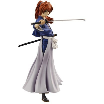 GEM Series Rurouni Kenshin 1/8 Scale Pre-Painted PVC Figure: Himura Kenshin (Blue Limited Ver.)