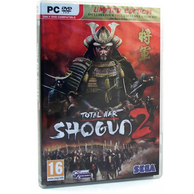 Shogun 2: Total War [Limited Edition] (DVD-ROM)
