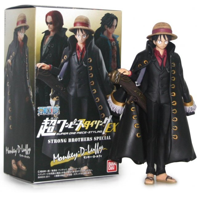 One Piece Styling EX Strong Brothers Special Limited Pre-Painted Candy Toy