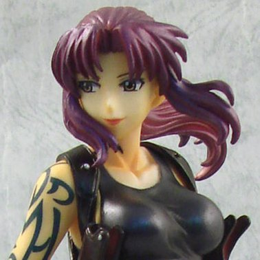 Black Lagoon Non-Scale Pre-Painted PVC Figure: 004 - Revy