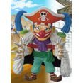 One Piece World Collectable Pre-Painted PVC Figure vol.1: TV007 - Buggy