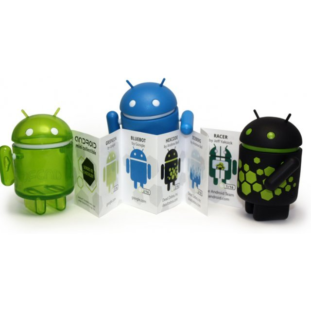 Google Android Non Scale Pre-Painted Vinyl  Mini Collectible Series 02