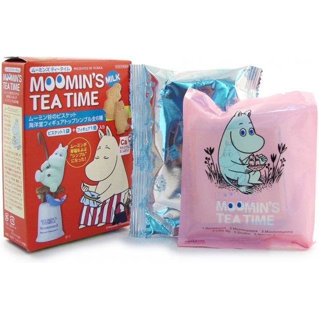 Moomin`s Tea Time Pre-Painted Candy Toy