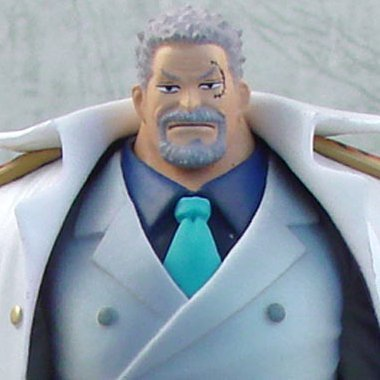 One Piece Piece High Spec Coloring Vol.5 Pre-Painted PVC Figure: Monkey D. Garp