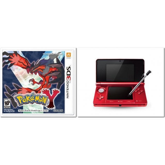 Pokemon Y with Nintendo 3DS (Play-Asia.com Starter Bundle Set)