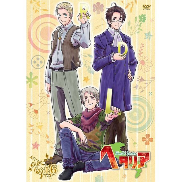 Hetalia World Series Vol.6 [DVD+CD Limited Edition]