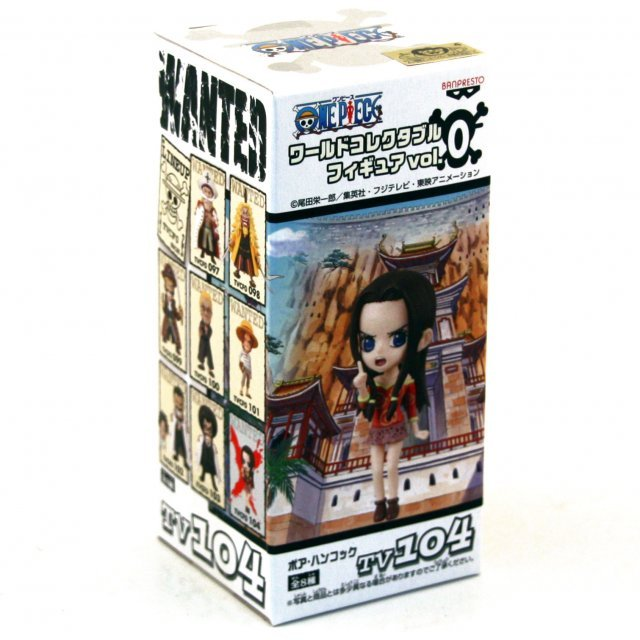 One Piece World Collectable Pre-Painted PVC Figure Vol.0: TV104 - Boa Hancock
