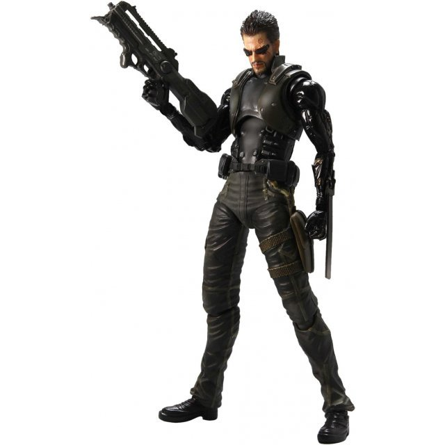 Deus Ex: Human Revolution Play Arts Kai Pre-Painted Figure: Adam Jensen