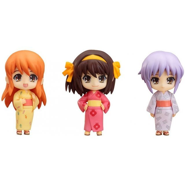 Nendoroid Petite Pre-Painted Figure Set: Haruhi Summer Festival Set