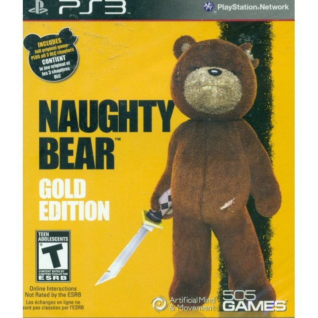 Naughty Bear (Gold Edition)