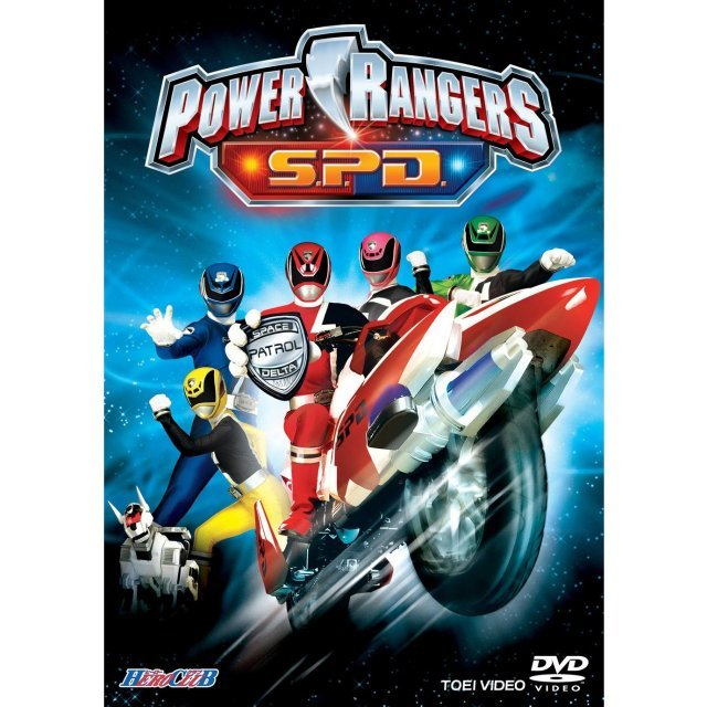 Hero Club Power Rangers S.P.D.