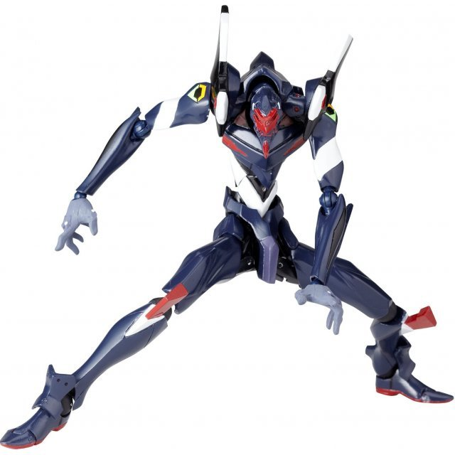 Revoltech Series No. 106 - Rebuild of Evangelion Pre-Painted PVC Figure: EVA Unit 03 Series