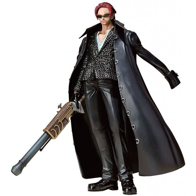 One Piece Figuarts Zero Non Scale Pre-Painted PVC Figure: Shanks Strong World Ver.