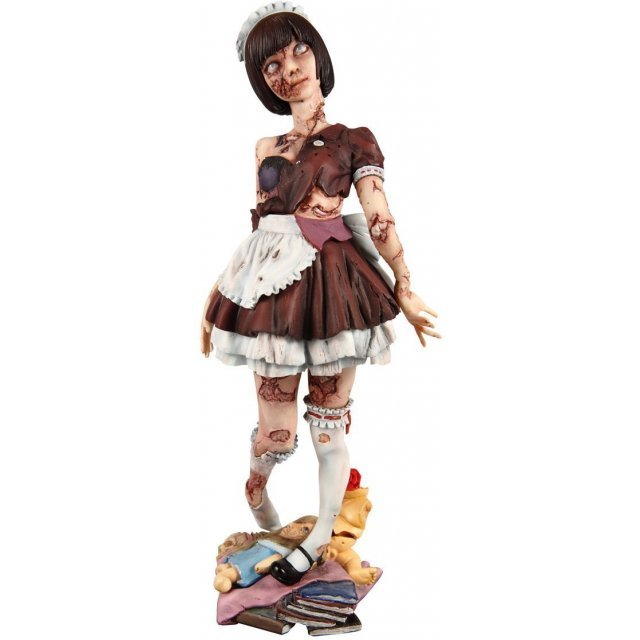 Original Character 1/8 Scale Pre-Painted Polystone Figure: Zombie Girl (Re-run)