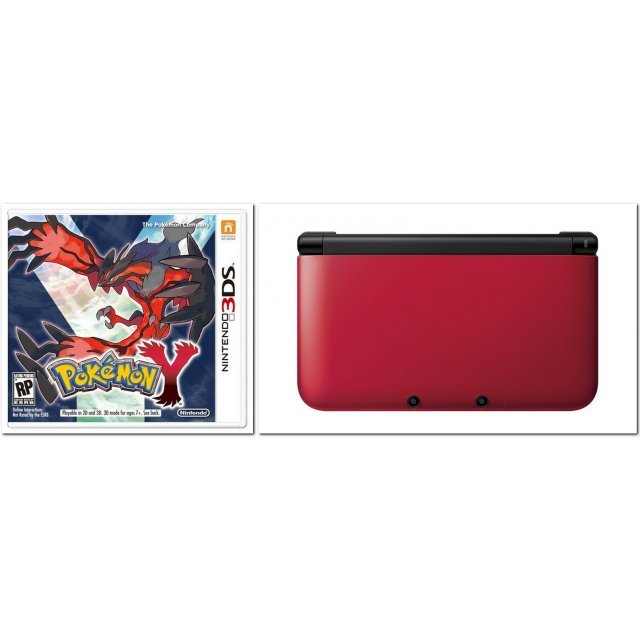 Pokemon Y with Nintendo 3DS XL (Play-Asia.com Starter Bundle Set)
