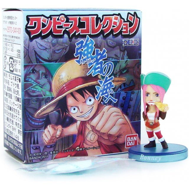 One Piece Collection - The Sea of Strong Souls Pre-Painted Candy Toy