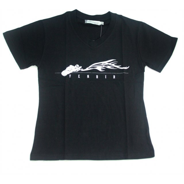 Square Enix Final Fantasy VII - Original T-Shirt (Fenrir) Ladies Size M