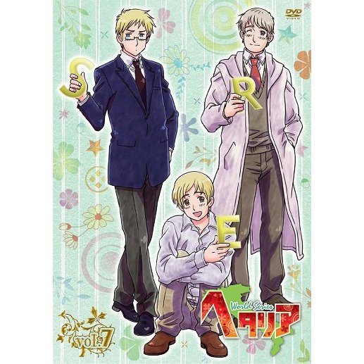 Hetalia World Series Vol.7 [DVD+CD Limited Edition]