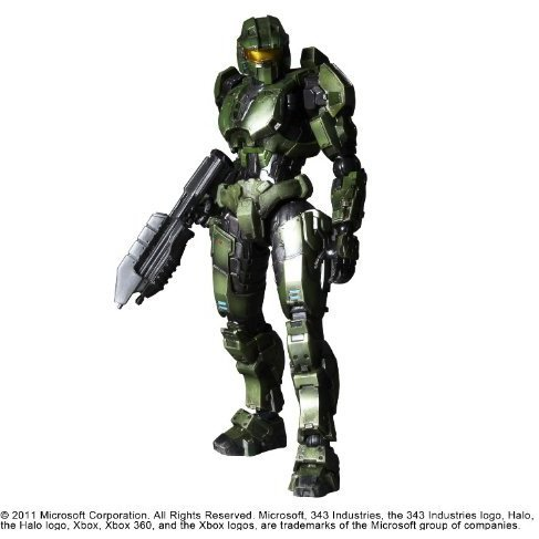 Halo Reach Play Arts Kai Vol.2 Non Scale Pre-Painted PVC Figure: Combat Evolved Master Chief