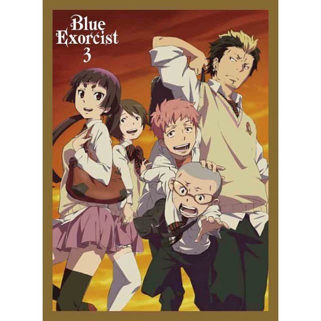 Blue Exorcist / Ao No Exorcist 3 [DVD+CD Limited Edition]