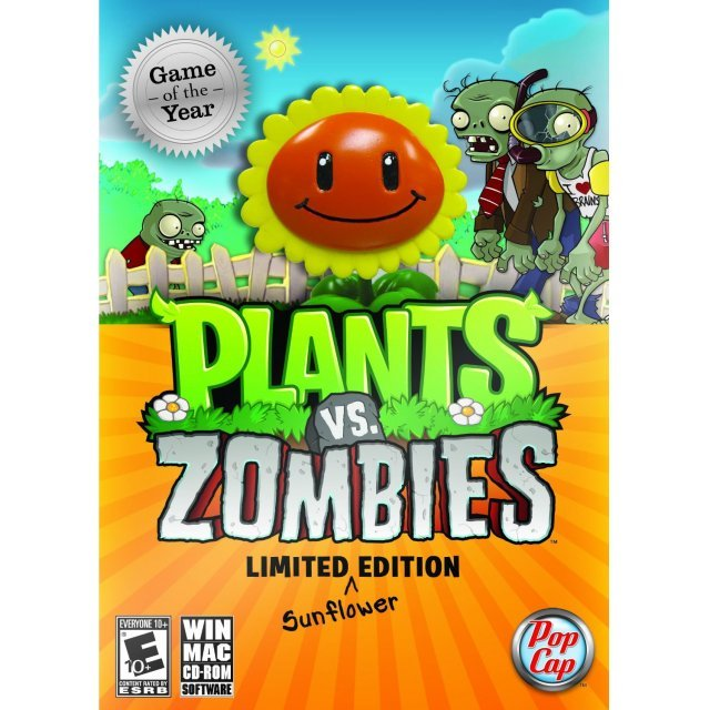 Plants vs. Zombies (Game of the Year Limited Sunflower Edition)