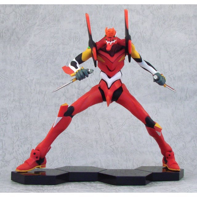 Neon Genesis Evangelion - Eva Series Non Scale Pre-Painted Premium Figure: EVA-02 Production Type