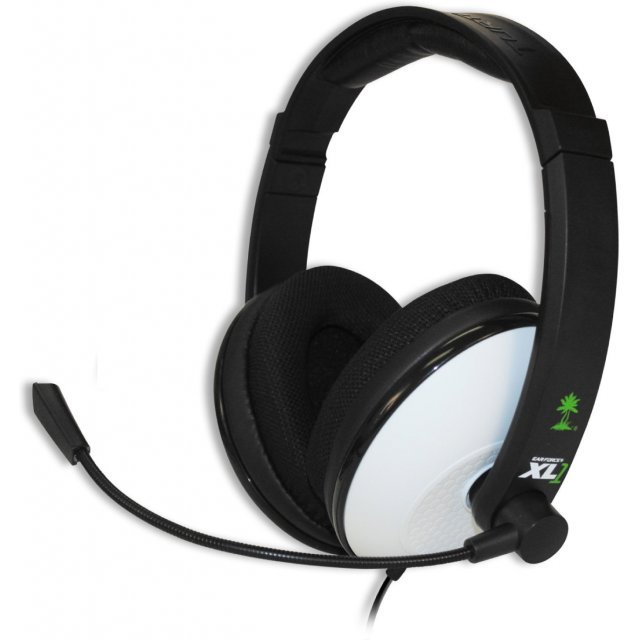 Turtle Beach Ear Force XL1 Amplified Headset (White) Xbox360