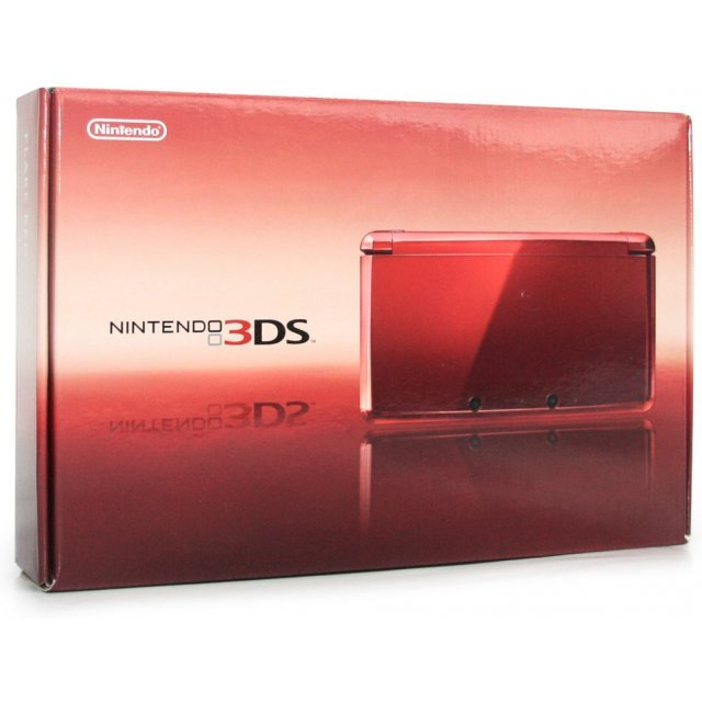 Nintendo 3DS (Flare Red)
