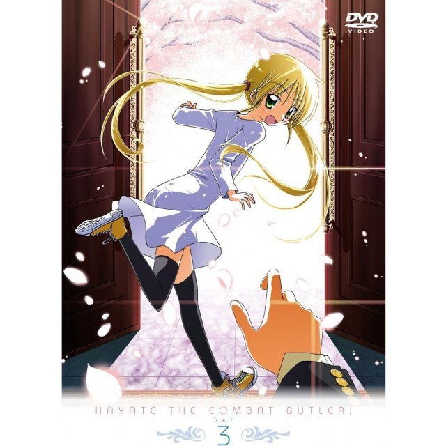Hayate The Combat Butler / Hayate No Gotoku DVD Set 3 [Limited Pressing]
