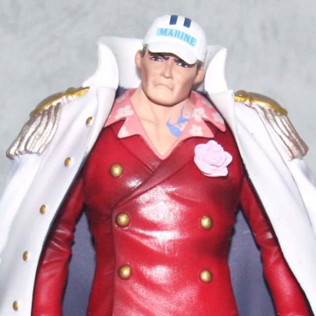 One Piece Piece High Spec Coloring Vol.6 Pre-Painted PVC Figure: Akainu