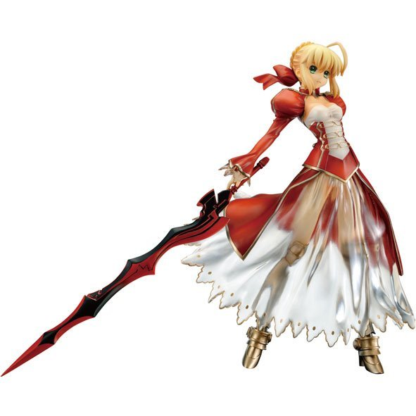 Fate/Extra 1/6 Scale Pre-Painted PVC Figure: Saber Extra Clayz Ver.