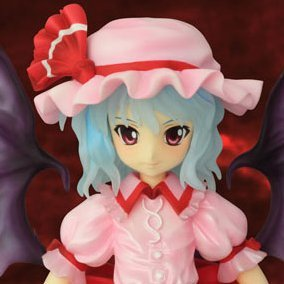 Touhou Project 1/8 Scale Pre-Painted PVC Figure: Remilia Scarlet Clear Ver.