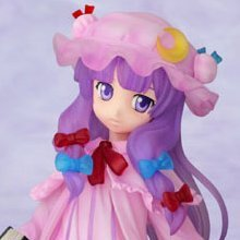 Touhou Project 1/8 Scale Pre-Painted PVC Figure: Patchouli Knowledge Clear Ver.