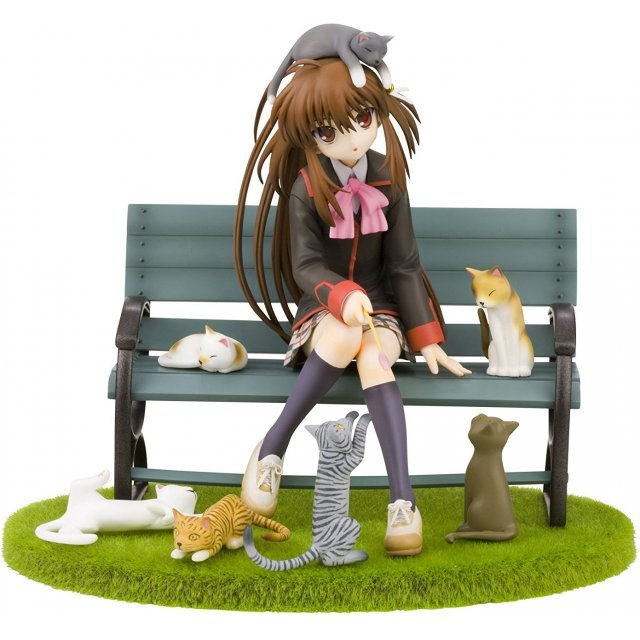 Little Busters 1/8 Scale Pre-Painted PVC Figure: Rin Natsume Cat Days Ver.