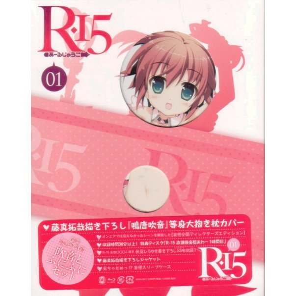 R-15 Vol.1 [Blu-ray+DVD Limited Edition]