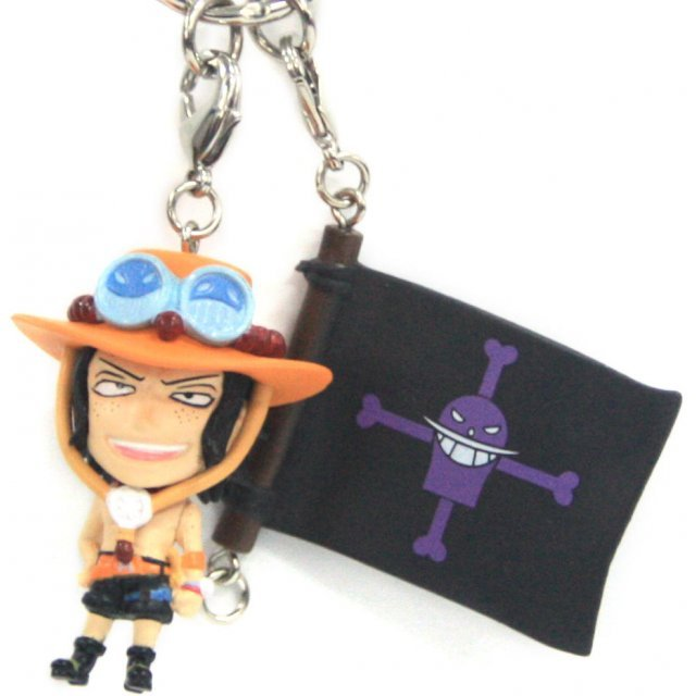 Banpresto One Piece Pre-Painted PVC Key Chain Vol.3: Ace