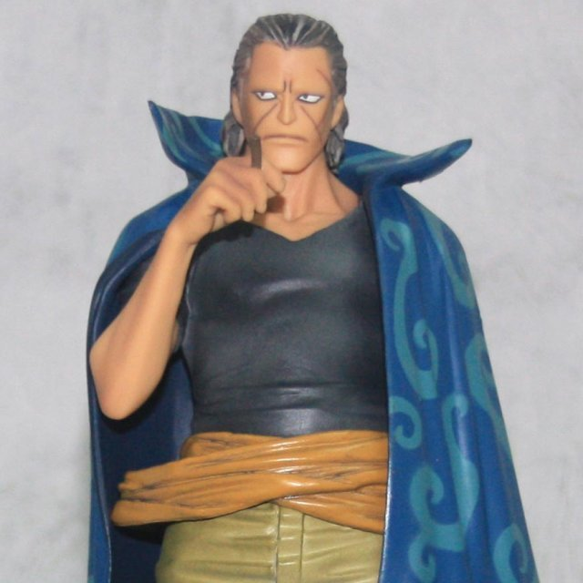 One Piece The Grandline Men Vol.8 Pre-Painted PVC Figure: Benn Beckman