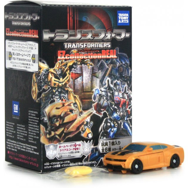 Transformers Ez Collection Real Pre-Painted Candy Toys