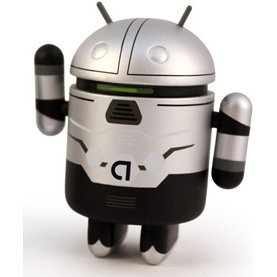 Google Android Non Scale Pre-Painted Vinyl  Mini Collectible Series Special Edition: Cycle-On (Villain)