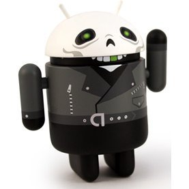 Google Android Non Scale Pre-Painted Vinyl Mini Collectible Series Special Edition: Greentooth (Villain)