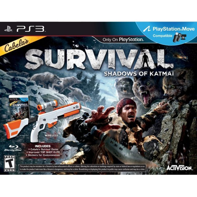 Cabela's Survival: Shadows of Katmai (w/ Gun)