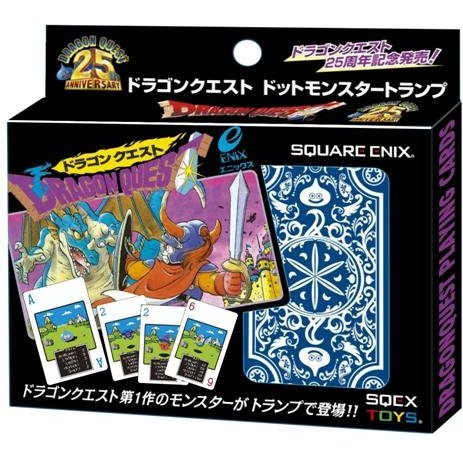 Dragon Quest Dragon Quest Dot Monster Trump Playing Cards - Dragon Quest 25th anniversary