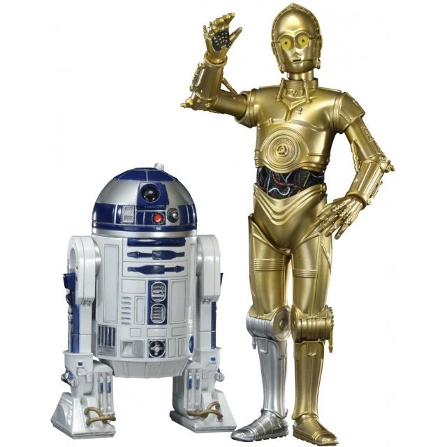 ARTFX+ Star Wars Episode VI Return of the Jedi 1/10 Scale Pre-Painted Figure: C-3PO & R2-D2